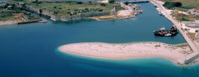 Lefkada, forteresse Sainte-Maure