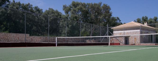 Mira's Tennis Court