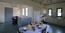 Essbereich und die Küchenecke im Obergeschoss