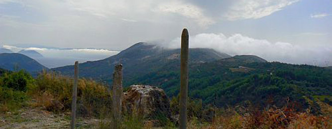 Panorama dal monte Stavrotas
